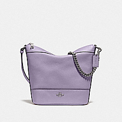 COACH F76668 - SMALL PAXTON DUFFLE LILAC/SILVER