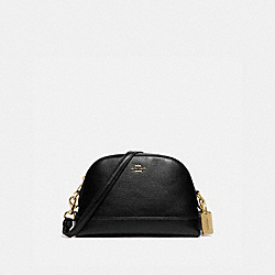 DOME CROSSBODY - F76673 - IM/BLACK