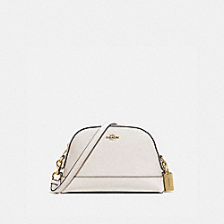 DOME CROSSBODY - F76673IMCHK - IM/CHALK