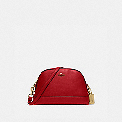 COACH F76673 Dome Crossbody IM/TRUE RED