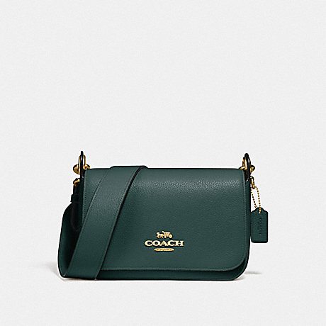 COACH F76698 SMALL JES MESSENGER IM/EVERGREEN