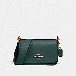 COACH F76698 - SMALL JES MESSENGER IM/EVERGREEN