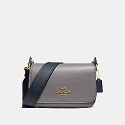 COACH F76699IMP50 - SMALL JES MESSENGER IN COLORBLOCK IM/HEATHER GREY CHALK MULTI