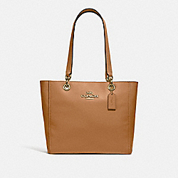 COACH F76701 - JES TOTE IM/LIGHT SADDLE