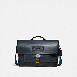 COACH F76803 - TERRAIN BIKE BAG MIDNIGHT NAVY/BLACK ANTIQUE NICKEL