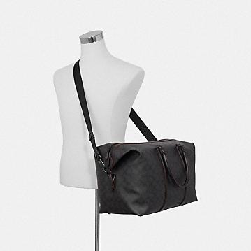 コーチ公式アウトレット   *トレッカー バッグ シグネチャー キャンバス   トラベルバッグ