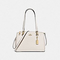 ETTA CARRYALL - F76938 - CHALK/GOLD