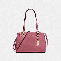 ETTA CARRYALL - F76938 - ROUGE/GOLD