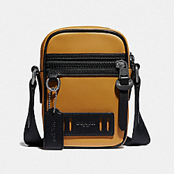 COACH F77032 Terrain Crossbody AMBER/BLACK ANTIQUE NICKEL
