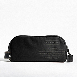 COACH F77276 Heritage Web Canvas Travel Kit