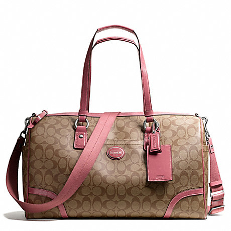 COACH f77320 PEYTON TRAVEL SATCHEL