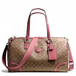 COACH F77320 - PEYTON TRAVEL SATCHEL ONE-COLOR