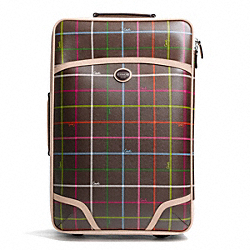 COACH F77396 - PEYTON TATTERSALL WHEEL ALONG ONE-COLOR