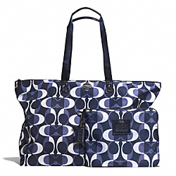 DREAM C LARGE WEEKENDER - f77569 - SILVER/NAVY