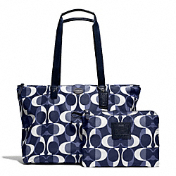 DREAM C WEEKENDER - f77571 - SILVER/NAVY