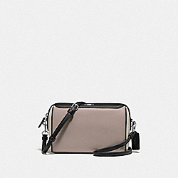 COACH F77685 - BENNETT CROSSBODY IN COLORBLOCK GREY BIRCH MULTI/SILVER