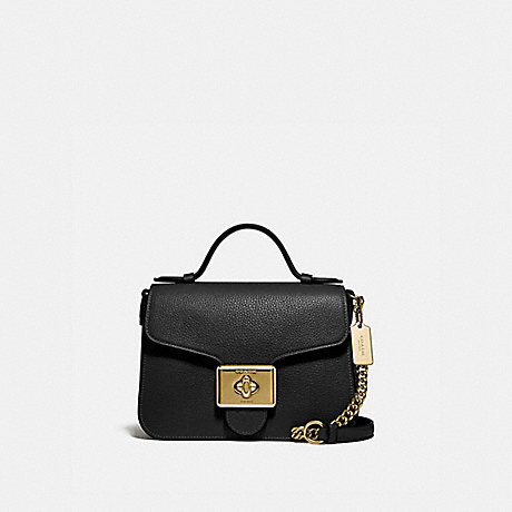 COACH F77897 CASSIDY TOP HANDLE CROSSBODY IM/BLACK