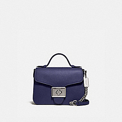 COACH F77897 - CASSIDY TOP HANDLE CROSSBODY SV/CADET