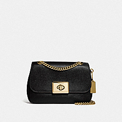 COACH F77974IMBLK - MINI CASSIDY CROSSBODY IM/BLACK