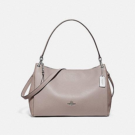 Mia Shoulder Bag Grey Birch