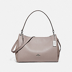 MIA SHOULDER BAG - F77999 - GREY BIRCH/SILVER