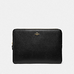 COACH F78121 Laptop Sleeve IM/BLACK