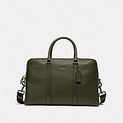 TREKKER CARRYALL - F78130 - JUNIPER/BLACK ANTIQUE NICKEL