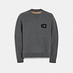 VARSITY SIGNATURE SWEATSHIRT - F78311 - DARK HEATHER GREY