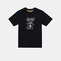 COACH F78463 - PARTY RAT T-SHIRT BLACK