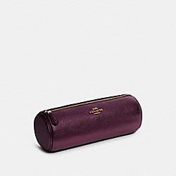 COACH F78525 - MAKEUP BRUSH HOLDER IM/DARK BERRY/METALLIC BERRY