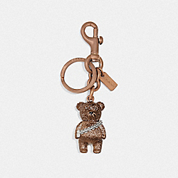 STAR WARS X COACH CHEWBACCA BEAR BAG CHARM - F78813 - BRONZE