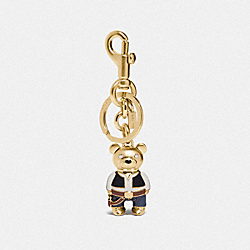 COACH F78816 Star Wars X Coach Han Solo Bear Bag Charm GD/MULTI
