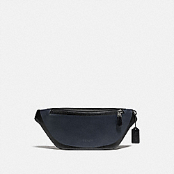 WARREN BELT BAG IN COLORBLOCK - F79149 - BLACK MULTI/BLACK ANTIQUE NICKEL