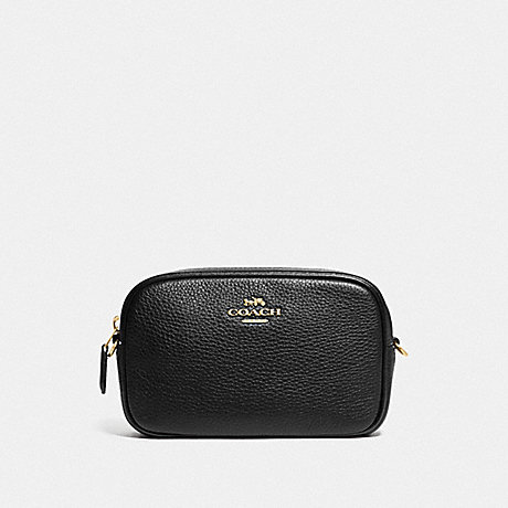 COACH F79210 CONVERTIBLE BELT BAG BLACK/GOLD