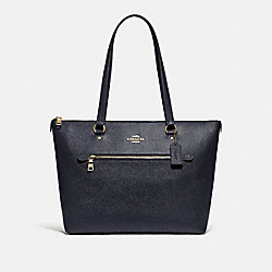 COACH F79608 - GALLERY TOTE IM/MIDNIGHT