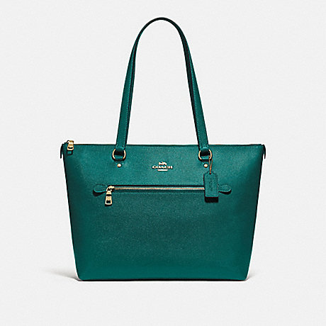 COACH F79608 GALLERY TOTE IM/VIRIDIAN