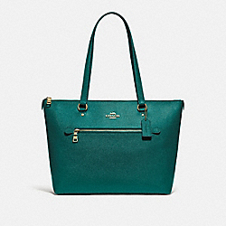 COACH F79608 - GALLERY TOTE IM/VIRIDIAN