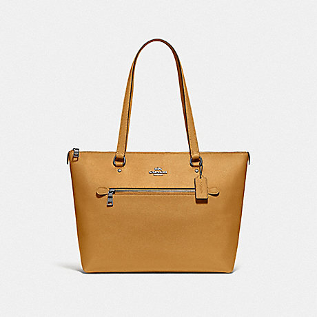 COACH F79608 GALLERY TOTE QB/YELLOW