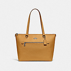 GALLERY TOTE - F79608 - QB/YELLOW