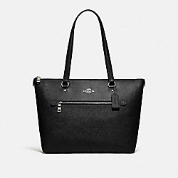 COACH F79608 Gallery Tote SV/BLACK