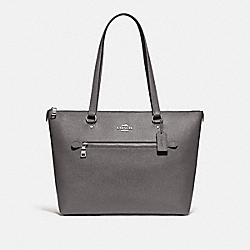 COACH F79608 Gallery Tote SV/HEATHER GREY
