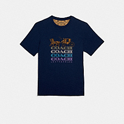 COACH F79669 - COACH T-SHIRT NAVY