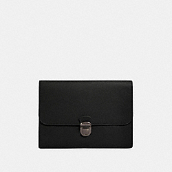 COACH F79881 Beckett Portfolio Pouch NI/BLACK