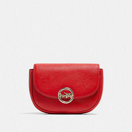 COACH F79941 JADE MINI BELT BAG IM/BRIGHT-RED