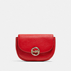 COACH F79941 - JADE MINI BELT BAG IM/BRIGHT RED