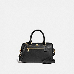 ROWAN SATCHEL - F79946 - IM/BLACK