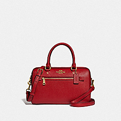 ROWAN SATCHEL - F79946 - IM/TRUE RED