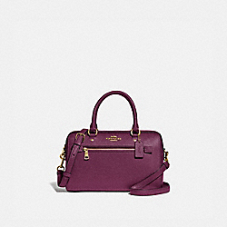 COACH F79946 - ROWAN SATCHEL IM/DARK BERRY