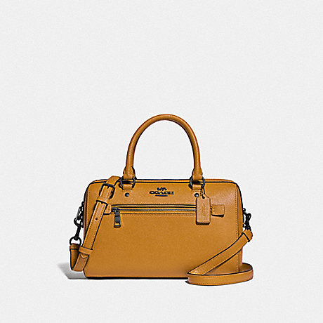 COACH F79946 ROWAN SATCHEL QB/YELLOW