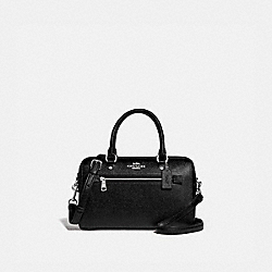 ROWAN SATCHEL - F79946 - SV/BLACK